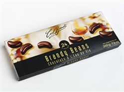 Brandt's liqueur filled pralines combine rich bittersweet chocolate and a shot of liqueur.  Brandy Beans stand out in attractive gift boxes and embrace pure delicious indulgence – a gift that will be remembered.