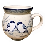 "Pattern designed by Maria Starzyk. The artist has been connected with the Artistic Handicraft Cooperative ""Artistic Ceramics and Pottery"" since 1997. Since 2003 she has been a pattern designer. Signature Unikat pattern number U4830."