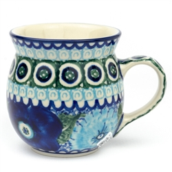 "Pattern designed by master artist Maria Iwicka. The artist has been connected with the Artistic Handicraft Cooperative ""Artistic Ceramics and Pottery"" since 1981. A pattern designer since 1993."