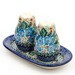 "Pattern Designed By Maria Starzyk. The artist has been connected with the Artistic Handicraft Cooperative ""Artistic Ceramics and Pottery"" since 1997. Since 2003 she has been a pattern designer."