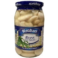 Delicious, nutritious and healthy. Made with white beans, water and salt.