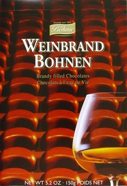 Bohme Weinbrand Kirschen - Cherry & Brandy Filled Chocolates