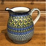 "Designed by master artist Maria Iwicka. The artist has been connected with the Artistic Handicraft Cooperative ""Artistic Ceramics and Pottery"" since 1981. Since 1993 she has been a pattern designer. Unikat pattern number U294."