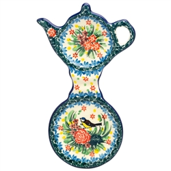 "Pattern designed by master artist Maria Starzyk . The artist has been connected with Handicraft Cooperative ""Artistic Ceramics and Pottery"" since 1995, whereas since 1997 she has been a pattern designer."