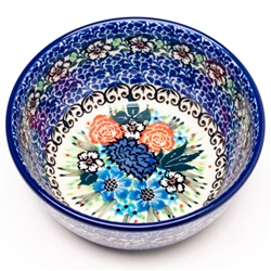 "Pattern Designed By Teresa Liana  The artist has been connected with the Artistic Handicraft Cooperative ""Artistic Ceramics and Pottery"" since 1983. Since 1992 she has been a pattern designer. Signature Unikat pattern number U4632.  We call small bowl and"