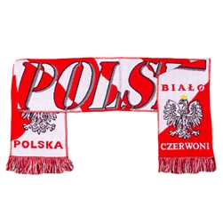 "Two ply Polyester woven scarf approximately 60"" Long x 7½"" Wide. Imported from Poland