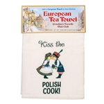"Enjoy this decorative kitchen tea towel 100% cotton flour sack towel. Size is approx 24"" x 24"".  Not made in Poland."