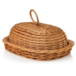 Poland is famous for hand made willow baskets. This is a tradition in areas of the country where willow grows wild and is very much a village and family industry. Beautifully crafted and sturdy, these baskets can last a generation. Perfect for the kitchen