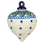 "Collectors of Polish stoneware from Poland's premier company, Ceramika Artystyczna, will enjoy this unique item.  Size is approx 3.5"" x 3""."