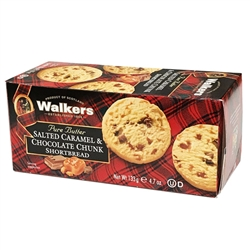 Walker's have introduced a delicious new shortbread to their range – salted caramel & milk chocolate chunks. Pure butter shortbread with yummy salted caramel pieces and chunks of milk chocolate make this a tasty treat at any time of day.