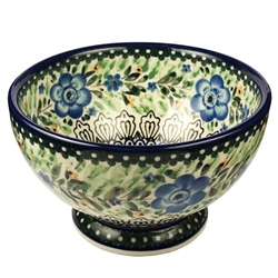 "Designed And Signed By Lucyna Lenkiewicz The artist has been connected with the Artistic Handicraft Cooperative ""Artistic Ceramics and Pottery"" since 1998. Since 2002 she has been a pattern designer. Signature Series Pattern: U1872"