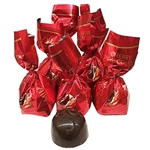 Eight individually wrapped cherries in dark chocolate, a delicious traditional Polish sweet treat. A whole pitted cherry dipped in alcohol, closed in a shell of delicious Polish dark chocolate. Contains alcohol so these are not for children or pregnant