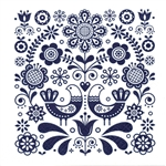 Polish Luncheon Napkins (package of 20) - Kaszub Design