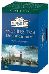 Ahmad Decaffeinated Evening Tea 20 foil tea bags