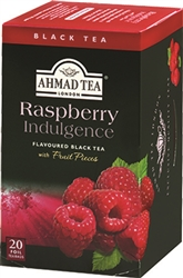 Ahmad Raspberry Indulgence Black Tea 20 tea bags