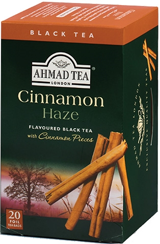 Ahmad Cinnamon Haze Black Tea 20 Foil Bags