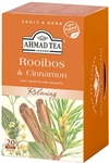 Ahmad Rooibos and Cinnamon Herbal Tea 20 foil tea bags