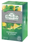 Ahmad Peppermint and Lemon Herbal Tea 20 foil tea bags