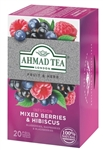 Ahmad Mixed Berries & Hibiscus Tea 20 foil tea bags