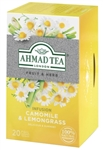 Ahmad Camomile & Lemongrass Herbal Infusion 20 foil tea bags