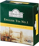 Ahmad English Tea No. 1 - 100 tagged tea bags, where to buy ahmad tea, order ahmad tea online, best prices on ahmad tea, loose leaf tea, tagged tea bags, imported tea, london tea, buy ahmad tea, get ahmad tea