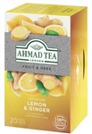 Ahmad Lemon and Ginger Tea 20 foil tea bags