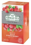 Ahmad Wild Strawberry Infusion 20 foil tea bags