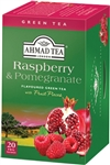 Ahmad Raspberry and Pomegranate Green Tea 20 foil tea bags