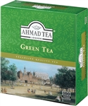 Ahmad Green Tea 100 Tagged Tea bags