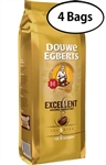 4 Packs Douwe Egberts Excellent Aroma Whole Bean Coffee 17.6oz/500g Each