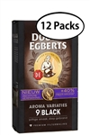 12 Packs Douwe Egberts Black Ground Coffee x 8.8oz/250g