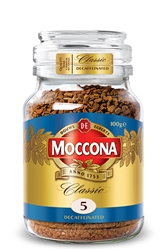 Douwe Egberts Moccona Classic Decaf Instant Coffee