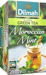 Dilmah Ceylon Natural Green Tea with Moroccan Mint 20 Tea Bags