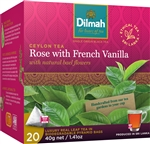 Dilmah Rose with French Vanilla Tea - 20 Leaf Bags