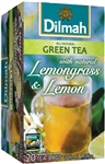 Dilmah Green Tea with Lemongrass and Lemon 20 Tea Bags