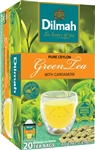 Dilmah Ceylon Natural Green Tea with Cardamom 20 Tea Bags