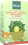 Dilmah Bergamot Orange, Peppermint & Lemon Infusion 20 Bags