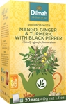 Dilmah Rooibos with Mango, Ginger & Tumeric with Black Pepper Infusion 20 Bags