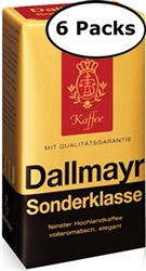 Dallmayr Sonderklasse Ground Coffee x 6