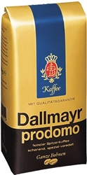 Dallmayr Prodomo Whole Bean Coffee 17.6oz/500g
