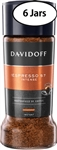 6 Jars Davidoff Cafe Espresso 57 Instant Coffee 3.5oz/100g Each