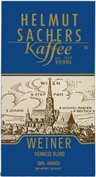 Helmut Sachers Vienna Blend Ground Coffee 17.6oz/500g