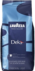 Lavazza Dek Espresso Decaffeinated Whole Beans 17.6oz/500g