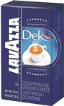 Lavazza Dek Decaf Espresso Ground Coffee