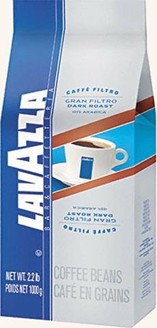 Lavazza Gran Filtro Dark Roast Whole Beans Coffee, LAVAZZA GRAN FILTRO DARK ROAST Whole Beans Coffee