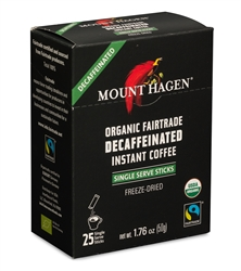Mount Hagen Organic Decaf Instant in Sticks