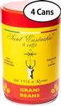 4 Packs of Sant Eustachio Whole Bean Coffee 8.8oz/250g