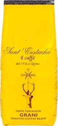 Sant Eustachio Whole Beans in Bag 2.2lb/1kg