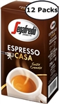 12 Packs Segafredo Casa Ground Coffee 8.8oz/250g Each