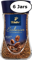 6 Jars Tchibo Exclusive Instant Coffee  7oz/200g Each